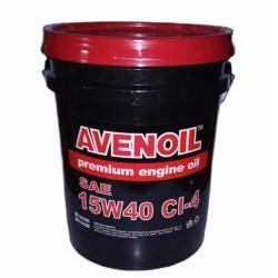 ACEITE AVENOIL 15W40 CI-4 TANQUE 5 GL