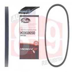 CORREA MICRO-V 6PK1650