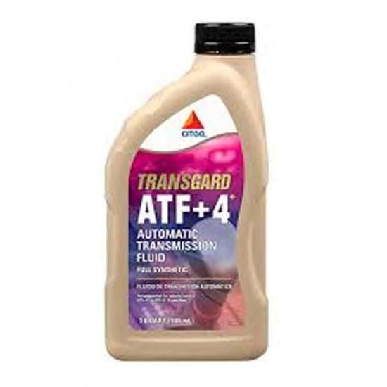 ACEITE CITGO ATF TRANSMISION AUTOMATICA ATF +4 CUARTO CHRYSLER JEEP DODGE SINTETICO 633179001182