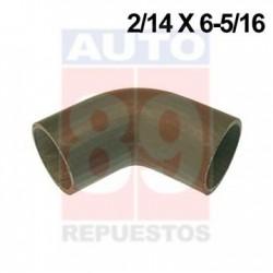 MANGUERA IHC CUMMINS N14 M11 ARRIBA CODO 90 GRADO 2/14 X 6-5/16