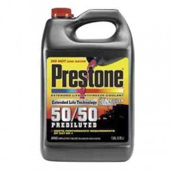 COOLANT PRESTONE HEAVY DUTY 50/50 PREDILUTED EXTENDED LIFE GALON AF9100