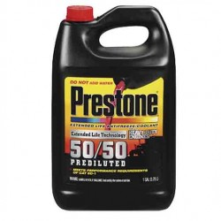 COOLANT PRESTONE HEAVY DUTY 50/50 PREDILUTED WITH SCA GALON AFC10100/F