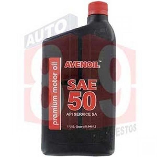 AVENOIL PREMIUM ACEITE SAE50 QTS