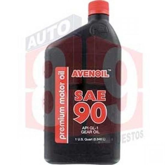 AVENOIL PREMIUM ACEITE 90 CUARTO QT 1/4