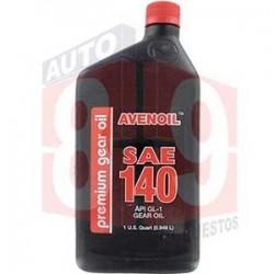 AVENOIL PREMIUM ACEITE 140 CUARTO QT 1/4